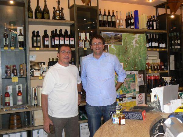 Eric de Mon Italie En Ligne et Alessandro de tartufi Morra