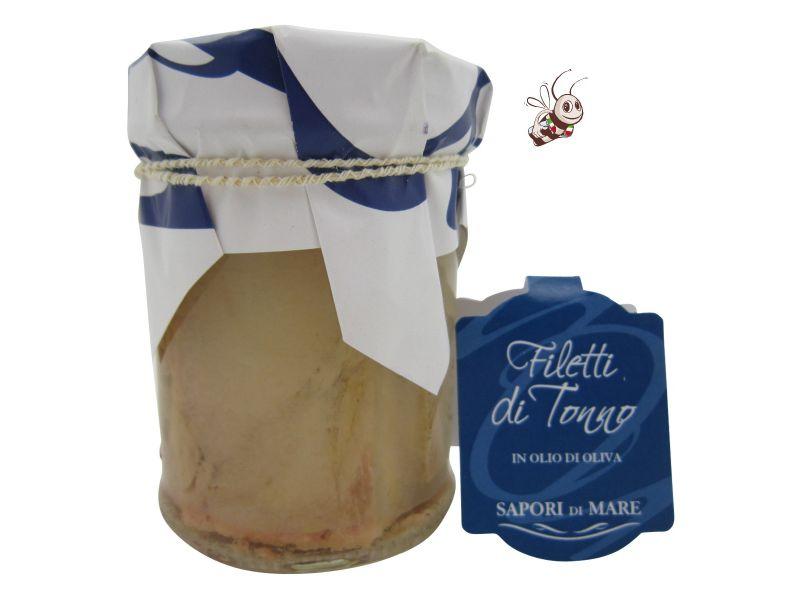 filet de thon sous huile d 39 olive produit italien artisanal. Black Bedroom Furniture Sets. Home Design Ideas