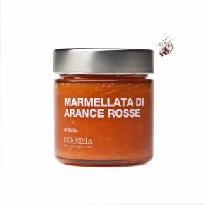Marmelade d'oranges rouges